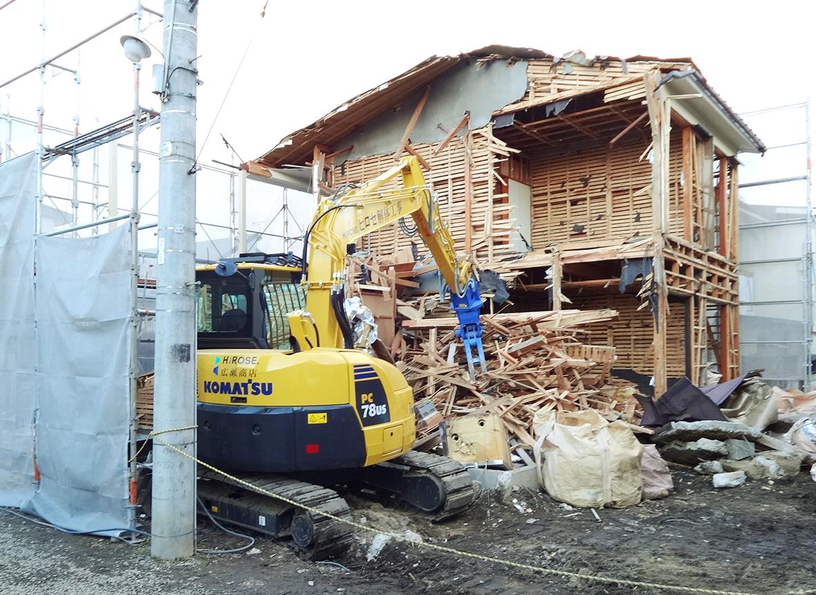 住宅・店舗の解体